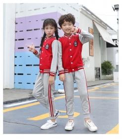 校服运动风棒球款学生服